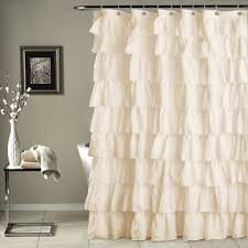 ruffle shower curtain lush décor www lushdecor