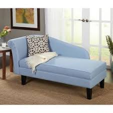 Storage Chaise Lounge Blue Upholstered Storage Chaise Bench Lounge Loveseat Sofa Couch