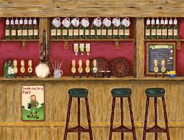 irish pub wall mural 10 5 wide by 8 high ebay irish pub