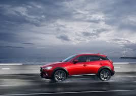 mazda is made by mazda begins production of the cx 3 small suv in thailand