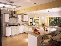 Kitchen With White Cabinets Modern Kitchen With White Cabinets Fpudining