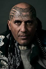 side of head tattoo new zealand black power gang captured in striking pictures daily