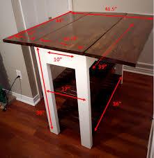 drop leaf kitchen island table diy kitchen island measurements kitchen diy