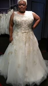 new gold ball gown wedding dress