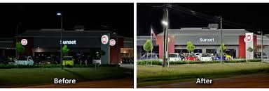 led parking lot lights vs metal halide led lighting 240w replace 1000w metal halide car dealership led