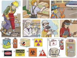 job safety with health and safety signs vocabulary pdf