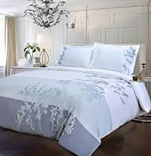 Duvet Protector King Size Amazon Com City Scene Branches Collection French Blue Duvet Set