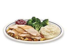 Different Thanksgiving Dinner Ideas Roasted Turkey Dinner Ihop