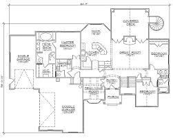 custom design floor plans rambler house plans with basements professional house floor