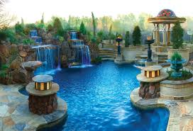 Luxury Pool Design - these pools are like a vacation every day