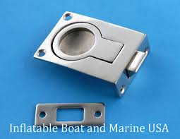 stainless steel cabinet door latches boat door hatch cabinet lift pull ring slam latch 2 1 4 marine
