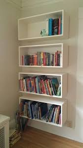 living room wall mounted book shelving intended for best 25