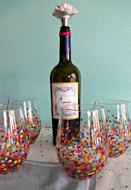 DIY Painted Wine Glasses – Serendipity by Sara Lynn