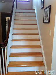 How To Cut Stair Trim Molding by Five Tips For Painting A Staircase With Before And After Photos
