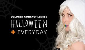 change eye color colored contact lenses halloween