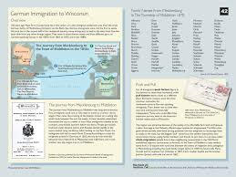 Wisconsin On Map by Nearly Everyone U0027s An Immigrant