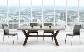 urban concrete rectangular dining table