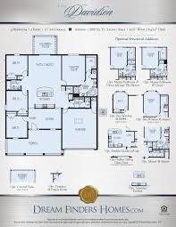 Floor Plans Texas Davidson Dream Finders Homes