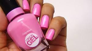 sally hansen no light gel polish target nail polish tricks