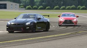 top lexus coupe lexus rc350 vs nissan gt r at top gear youtube