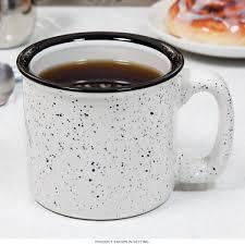 santa fe campfire mug sand white ceramic coffee mugs