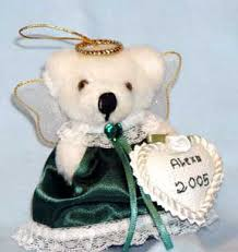ornaments teddy themed ornaments