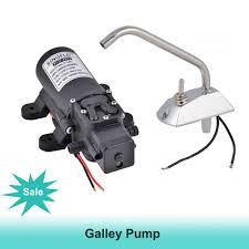 Marine Faucets Aliexpress Com Buy 12v Galley Electric Water Pump 4 3lpm Tap