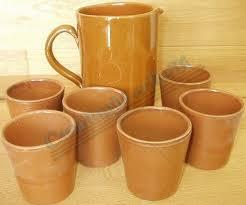 bicchieri in ceramica bicchieri ceramica bicchieri tavola bicchiere conico miele