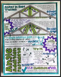 segment u0026 angle addition postulates doodle notes math middle