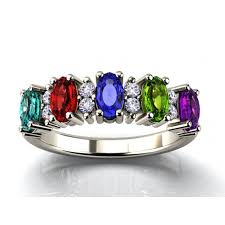 make mothers rings images Custom mother 39 s rings in gold platinum free shipping jpg