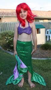 Ariel Mermaid Halloween Costume Making Splash Mermaid Halloween Costumes Costumes Blog