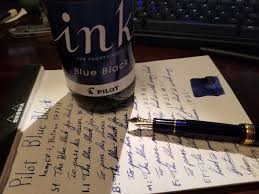 Rugged Fountain Pen Cheapest Ink Around Pilot Blue Black 350ml Ink Reviews The