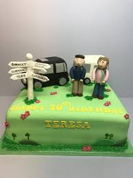 caravan u0026 camping birthday cake birthday cake shop