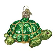 Halloween Glass Ornaments by Amazon Com Old World Christmas Desert Tortoise Glass Blown