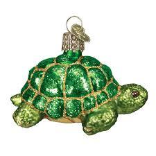 amazon com old world christmas desert tortoise glass blown