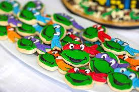 kara u0027s party ideas ninja turtles themed birthday party ideas