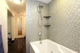 Tiled Bathroom Showers Tiled Bathtub Create A Raised Tile Area Around Bath Tub Web Mosaic