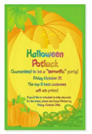time to start thinking about cool halloween invitations