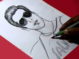 how to draw muscle king film actor salman khan drawing for kids
