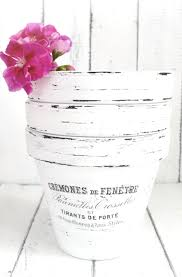 diy french made pots with waterslide decals dreams factory