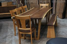 kitchen tables furniture live edge and slab table showroom in the chicago area