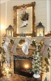 christmas mantel 25 gorgeous christmas mantel decoration ideas tutorials hative