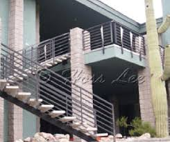hoss lee steel stairs commercial stairs manufacturer of precast