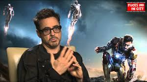 Tony Stark Robert Downey Jr Interview Iron Man 3 Tony Stark Youtube