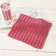 simple sorbet dishcloth free knitting pattern knitting bee