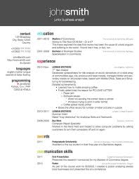 resume cv example resume example and free resume maker
