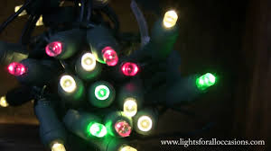 green led string lights led string lights warm white wide angle bulbs green and red