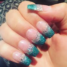 25 glitter acrylic nail art designs ideas design trends