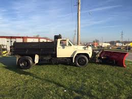 ford f700 truck 1994 ford f700 diesel dump truck with plow for sale photos