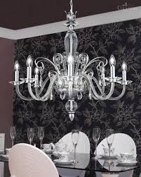 Florian Crystal Chandelier Chrome Chandelier Chrome Chandeliers Houzz Modern Chrome Orb